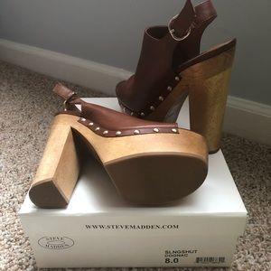 44ae2779781 Steve Madden Shoes - Steve Madden slingshot shoe in Cognac
